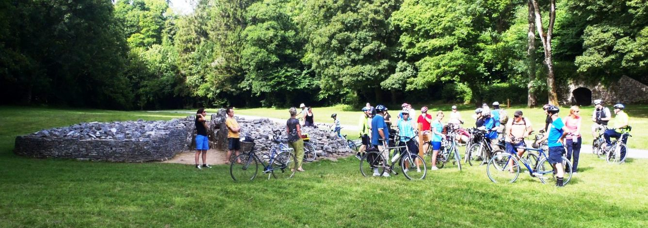 Ride 2 at Parc-le-Breos burial chamber.
