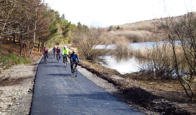 Upper Bank cycle path. (Pluck Lake)